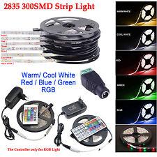 2835 300SMD RGB Flexible Tira de Luz LED +24/44 Llave mando a distancia IR DC12V