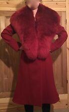 VINTAGE di Vivienne Westwood Red Label Donna LANA Cappotto Taglia 44 Westwood
