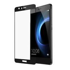 Black Full Cover HD Tempered Glass Screen Protector Film For Huawei Honor 8