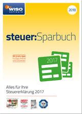 Download-Version WISO steuer:Sparbuch 2018 für die Steuererklärung 2017