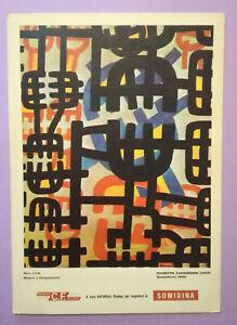 Pubblicita'Advertising Stampa Farmaceutica Vintage Originale SOMIDINA 1963