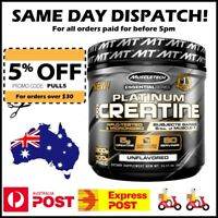 Muscletech Platinum 100% Pure Creatine 400 g - 80 Serves - FAST POST! #1 Seller