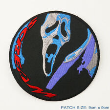 SCREAM - Scary Movie Ghostface/Knife Embroidered Patch
