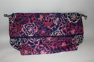 Vera Bradley Womens Expandable Travel Bag Carry On Floral Luggage Clothes Large