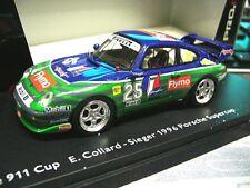 PORSCHE 911 993 Cup RS 3.8 1996 Collard Flymo Supercup Resin Schuco Pro SP 1:43