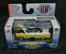 M2 MACHINES CASTLINE AUTO THENTICS 1955 DODGE ROYAL LANCER YELLOW AND WHITE R35