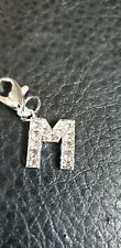 Clip On Letter M Dog/Cat  Collar Charm Tag