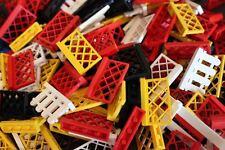 Lego 20 Zäune Zaunelemente Vintage gemischt verschiedene Farben Formen Sammlung
