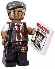 LEGO COMMISSIONER GORDON BATMAN MINIFIGURE THE MOVIE SERIES 71017 #7 Lot
