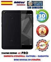 XIAOMI REDMI 4X PRO 32GB-3GB NEGRO.ROM OFICIAL MIUI V8 MULTILENGUAJE FACTURA 24H
