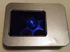 Движение с вращающейся игрушка ручной Spinner Xtreme Tech алюминиевый сплав синий склонило мяч