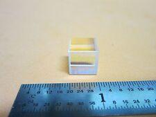 OPTICAL cube BEAM SPLITTER LASER OPTICS BIN#40-07