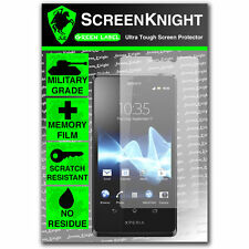 ScreenKnight Sony Xperia T FRONT SCREEN PROTECTOR invisible military shield
