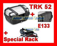 TRIUMPH TIGER EXPLORER 1200 VALIGIA BAULETTO TRK52N + TELAIO SR6403 + SPALLIERA