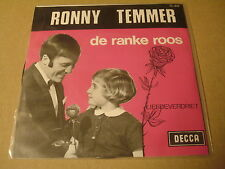 45T SINGLE / RONNY TEMMER - DE RANKE ROOS