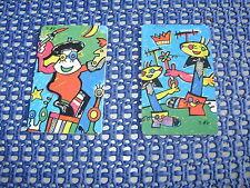 2 Telefonkarten mit Motiven vom Künstler Otmar Alt - 1996 -