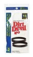 Dirt Devil Style 15 Vacuum Belts (2pk)
