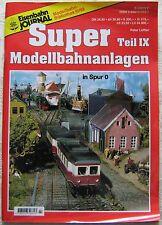 Eisenbahn Journal Super Modellanlagen Zimmer Teil 9 IX Spur 0 Peter Löffler 1998
