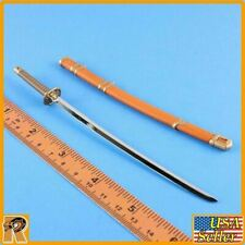 Japanese Officer Billy Chow - Metal Samurai Sword - 1/6 Scale Toys Power Figures