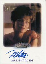 Star Trek Women Of 50th Anniversary Autograph Card Margot Rose as Eline