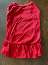New ListingXl Red Blank T-Shirt Dress Decorate Your Own New! Average Dog Large Christmas