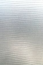 """LINES Etched Glass Textured Static Cling Window Film for Privacy 24"""" x 36"""""""
