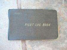 Vintage 88 Page California Pilot Flight Record & Log Book 1947-1951