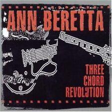 Ann Beretta - Three Chord Revolution CD NEU OVP