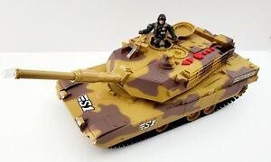 "Chap Mei True Heroes Sentinel 1 Recoiling Battle Tank 15"" w/ Lights Sounds Moves"