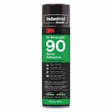 3M 90 Spray Adhesive,Size 20 oz.,High Strength