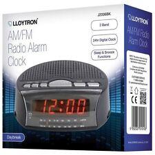 Lloytron Radio alarm clock AM/FM Daybreak Alarm Clock Radio 12 MONTHS WARRANTY