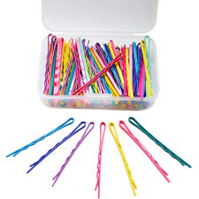 100 Pieces Bobby Pins Hair Styling Clips with 1 Storage Box for Girl and Women