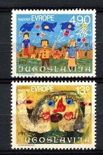Jugoslavia 1980 SG # 1951-2 gioia dell' Europa MNH Set #A 32987