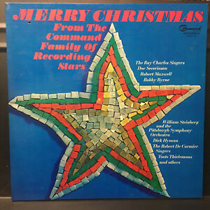 Merry Christmas Command STEREO Family Lp Vinyl Disc Record 1967 Toots Hyman Doc