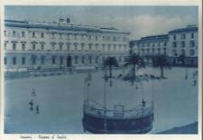 CARTOLINA NON VIAGGIATA _SASSARI - PIAZZA D'ITALIA_CESARE CAPELLO 1937 _SARDEGNA