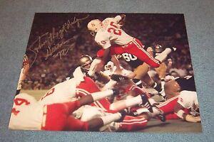 Nebraska Huskers Johnny Rodgers Signed Autographed 16x20 Photo 1972 Heisman