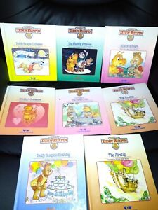 The World Of Teddy Ruxpin Lot Of 8 Books 1980's No Tapes Worlds of Wonder