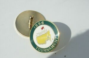 Stemmed US MASTERS 1996 Golf ball marker (FALDO 3rd Win) FREE POSTAGE IN UK
