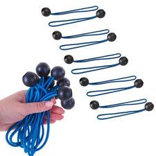 10 x Telone Palla Corde elastiche: 250mm (Elastico TENDA COPERTURA CAMPEGGIO connettore)