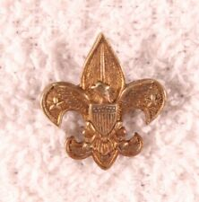 BSA Boy Scout - Tenderfoot Scout Rank Pin, stars up - safety pin fastener
