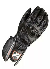 Akito Sports Rider Leather Scooter Motorbike Motorcycle Gloves Black XS
