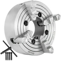 """K72-250 10"""" 4 Jaw Lathe Chuck Independent Milling Machine 250mm Front Mounting"""