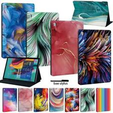 "For Samsung Galaxy Tab A A6 7.0 9.7 10.1 10.5 / E 9.6"" -LEATHER STAND COVER CASE"