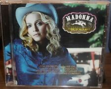 MADONNA MUSIC GOLD STAMP PROMO CD DON'T TELL ME WHAT IT FEELS LIKE FOR A GIRL