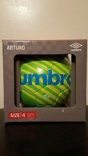 BRAND NEW IN BOX UMBRO ARTURO SIZE 4 SOCCER BALL