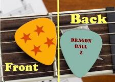 Dragon Ball Z Set of 3 premium Promo Guitar Pick Pic