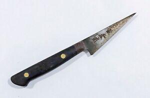 VINTAGE Masamoto 正本 petty utility knife Yanagi Naniwa whestone Yoshihiro shapton