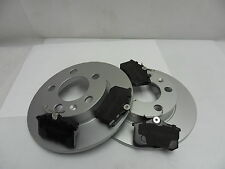 NEW Genuine Comline SEAT IBIZA mk4 REAR BRAKE DISCS AND PADS 2002>