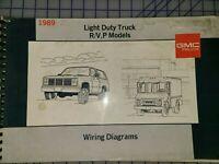 1989 Gmc S15 S15 Jimmy Electrical Diagnosis Wiring Diagrams Manual Original Ebay