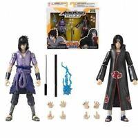 Naruto: Shippuden Anime Heroes Itachi and Sasuke Uchiha Action Figure 2-Pac - EE